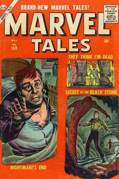 Marvel Tales 158 Cover Image