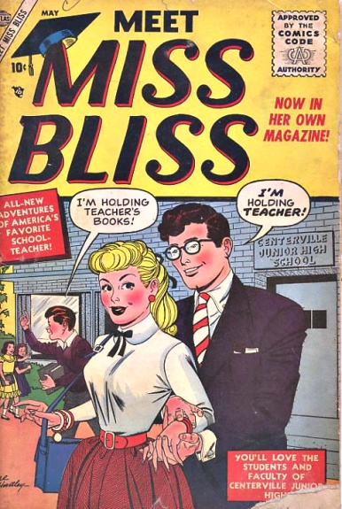 Meet Miss Bliss 1 Cover Image