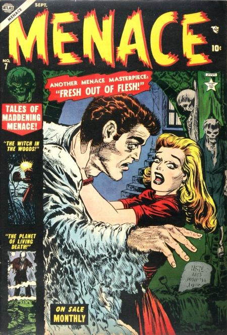 Menace 7 Cover Image