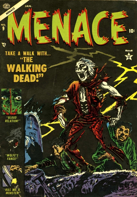 Menace 9 Cover Image