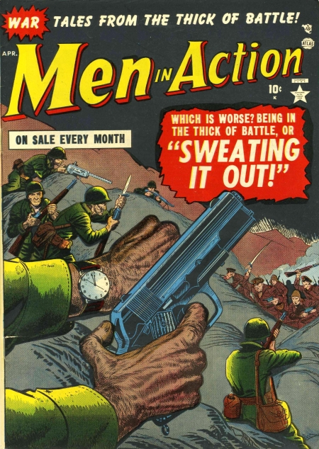 Men in Action 1 Cover Image