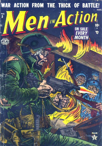 Men in Action 5 Cover Image