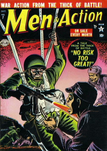 Men in Action 7 Cover Image