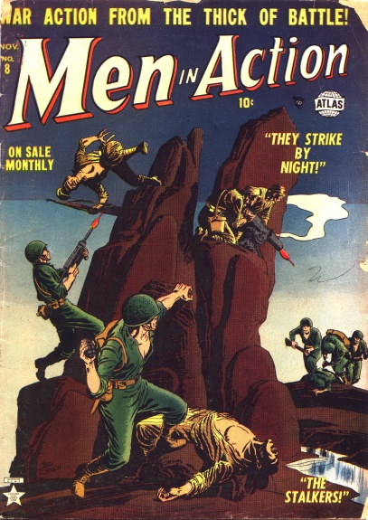 Men in Action 8 Cover Image