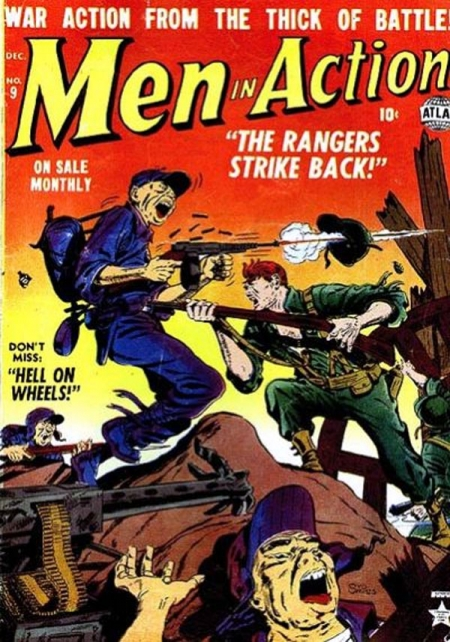 Men in Action 9 Cover Image