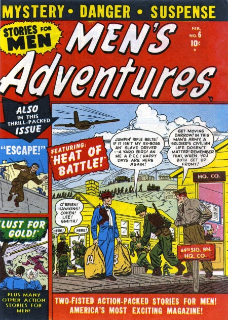 Men's Adventures 6 Cover Image