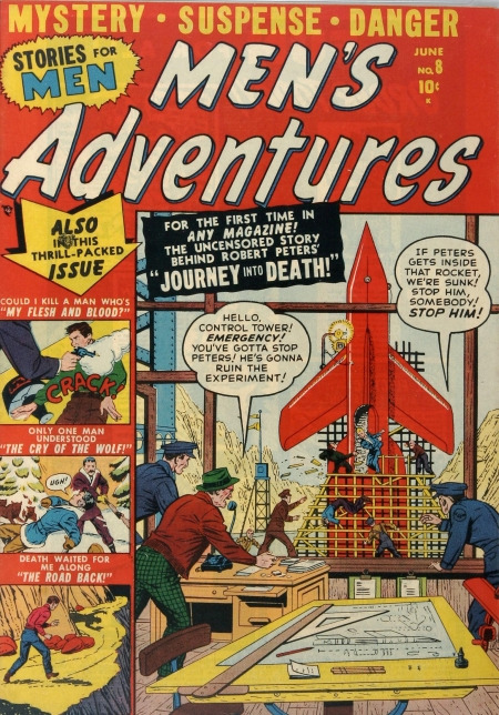 Men's Adventures 8 Cover Image
