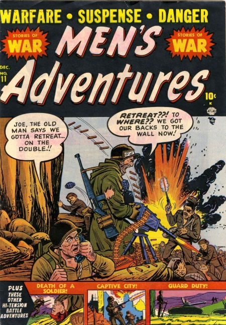 Men's Adventures 11 Cover Image