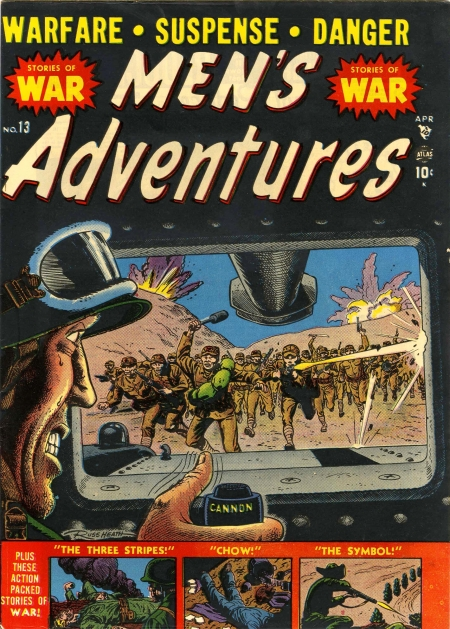 Men's Adventures 13 Cover Image