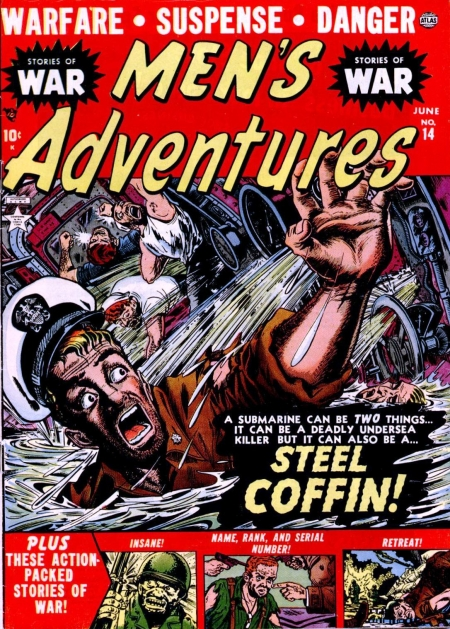 Men's Adventures 14 Cover Image
