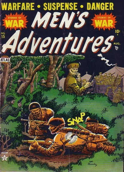 Men's Adventures 15 Cover Image
