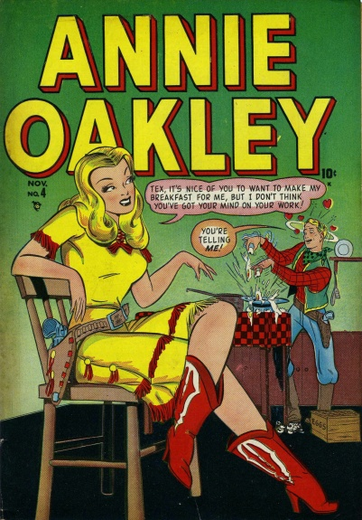 Annie Oakley 4 Cover Image