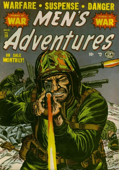 Men's Adventures 19 Cover Image