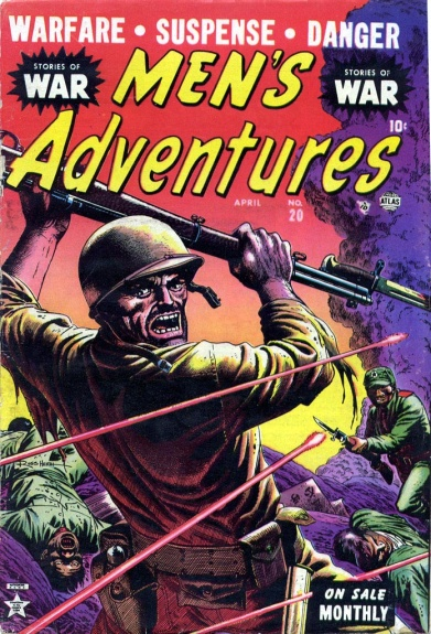 Men's Adventures 20 Cover Image