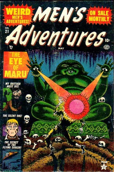 Men's Adventures 21 Cover Image
