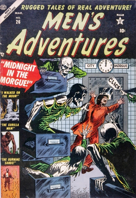 Men's Adventures 26 Cover Image