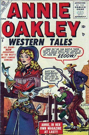 Annie Oakley 5 Cover Image