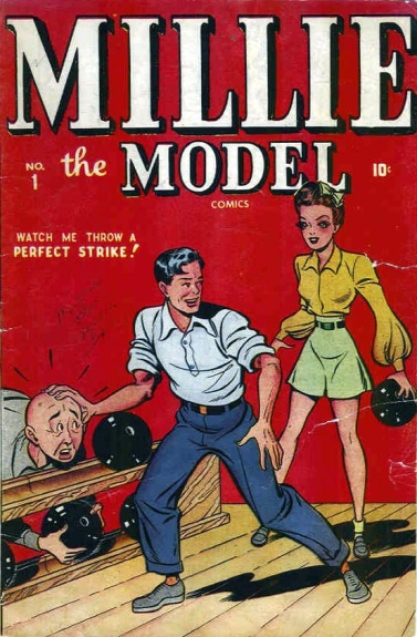 Millie the Model 1 Cover Image