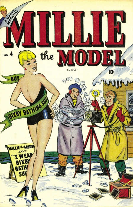 Millie the Model 4 Cover Image