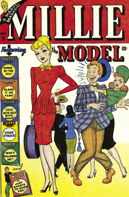 Millie the Model 5 Cover Image
