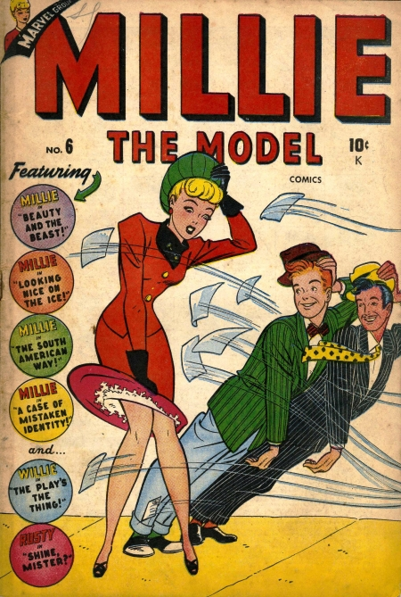 Millie the Model 6 Cover Image