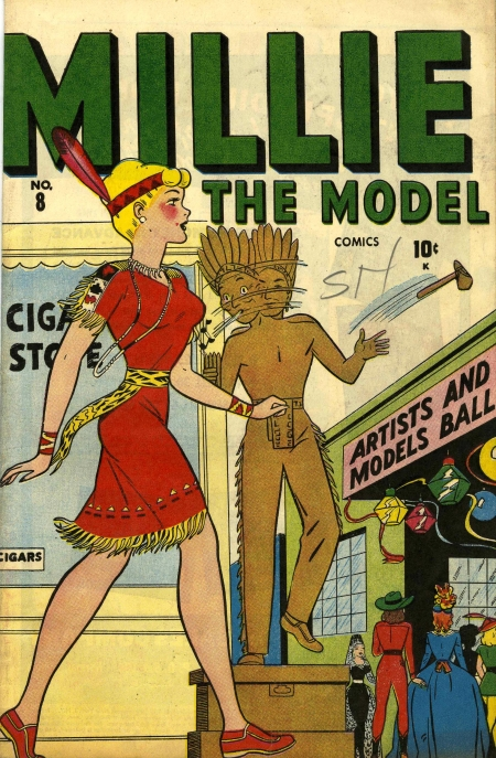 Millie the Model 8 Cover Image