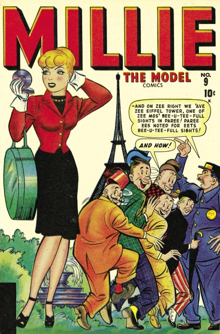 Millie the Model 9 Cover Image