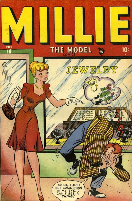 Millie the Model 10 Cover Image