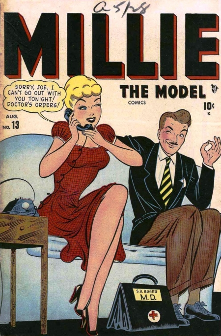 Millie the Model 13 Cover Image