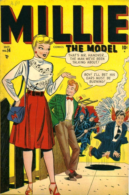 Millie the Model 14 Cover Image