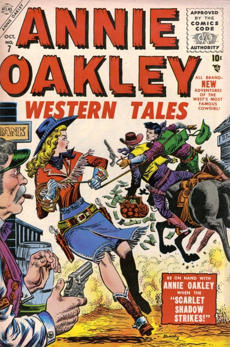 Annie Oakley 7 Cover Image