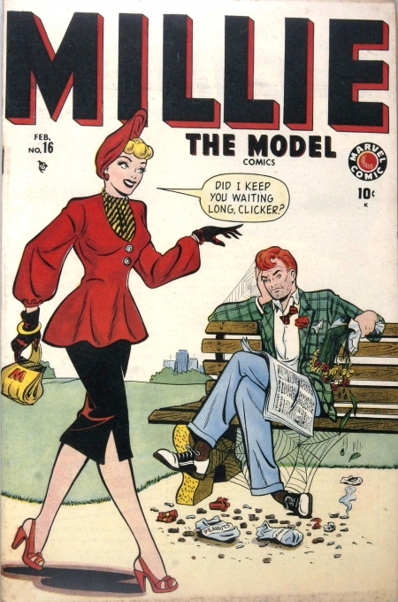 Millie the Model 16 Cover Image