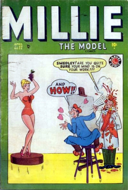 Millie the Model 17 Cover Image