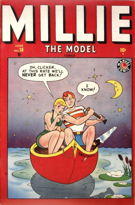 Millie the Model 18 Cover Image