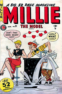 Millie the Model 21 Cover Image