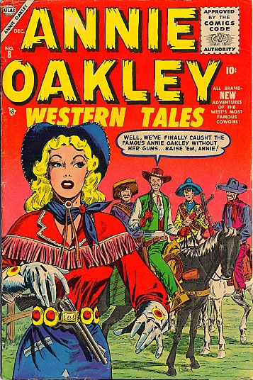 Annie Oakley 8 Cover Image