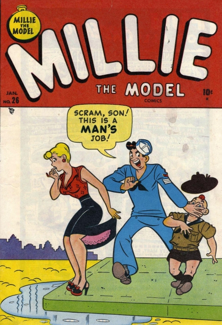 Millie the Model 26 Cover Image
