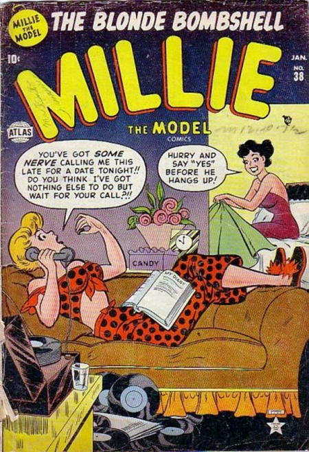 Millie the Model 38 Cover Image
