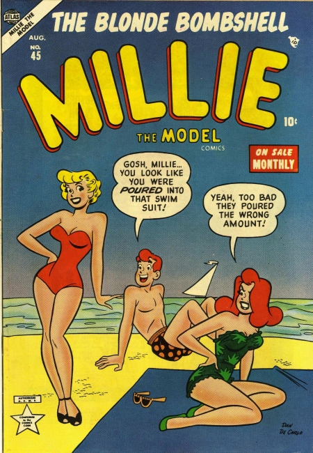 Millie the Model 45 Cover Image