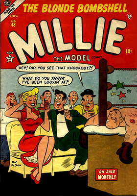 Millie the Model 48 Cover Image