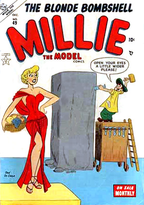 Millie the Model 49 Cover Image