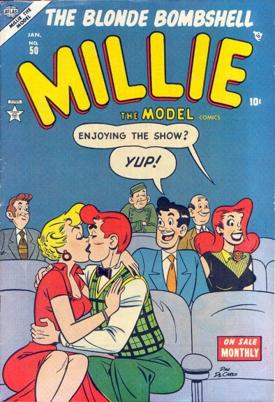 Millie the Model 50 Cover Image