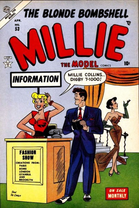 Millie the Model 53 Cover Image