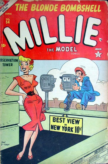 Millie the Model 54 Cover Image