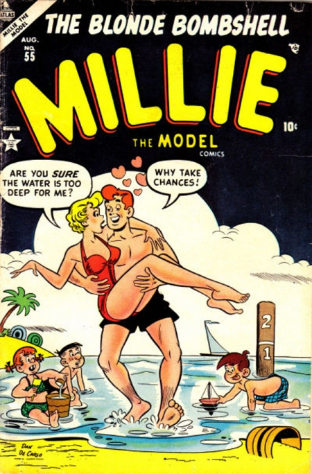 Millie the Model 55 Cover Image