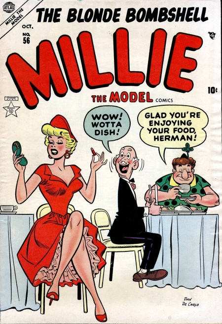 Millie the Model 56 Cover Image