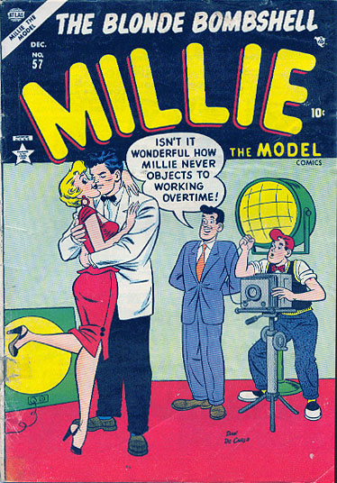 Millie the Model 57 Cover Image
