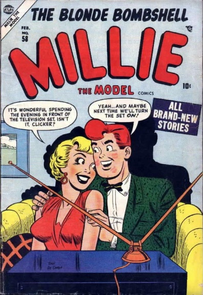 Millie the Model 58 Cover Image