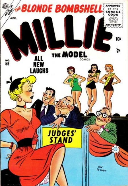 Millie the Model 59 Cover Image