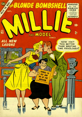 Millie the Model 62 Cover Image